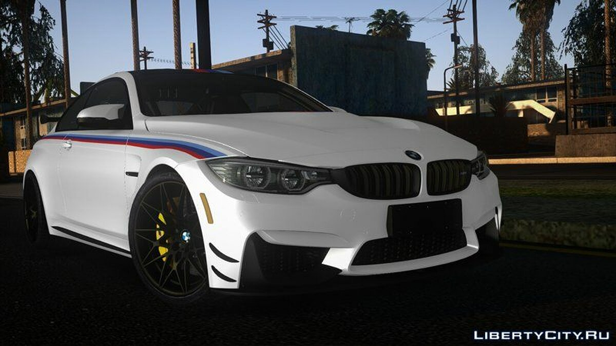 Машина BMW BMW M4 F84 DTM Champion Edition для GTA San Andreas