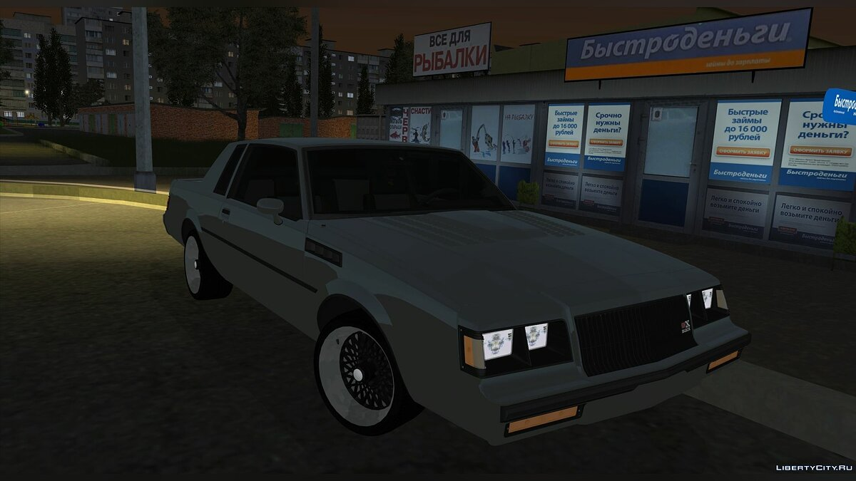 Машина Buick Buick Grand National 1987 для GTA San Andreas