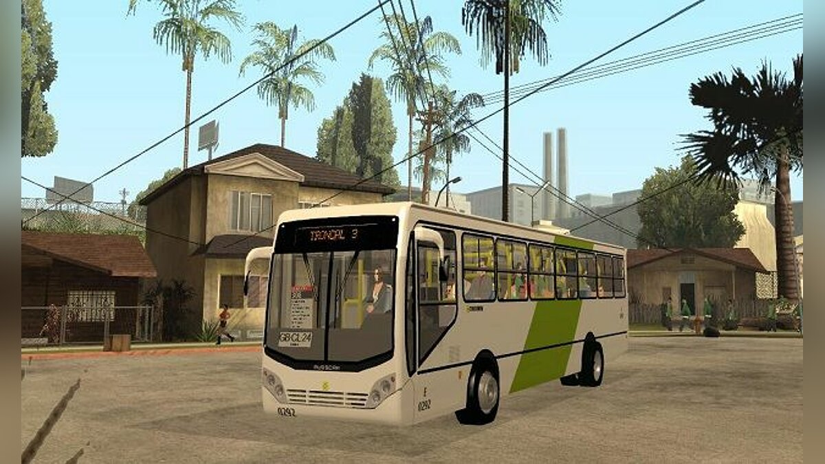 Busscar Urbanuss Pluss 2009 M.Benz OF-1722 для GTA San Andreas