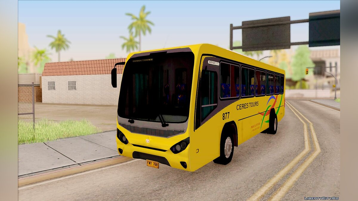 Marcopolo Ideale CERES TOURS 877 для GTA San Andreas