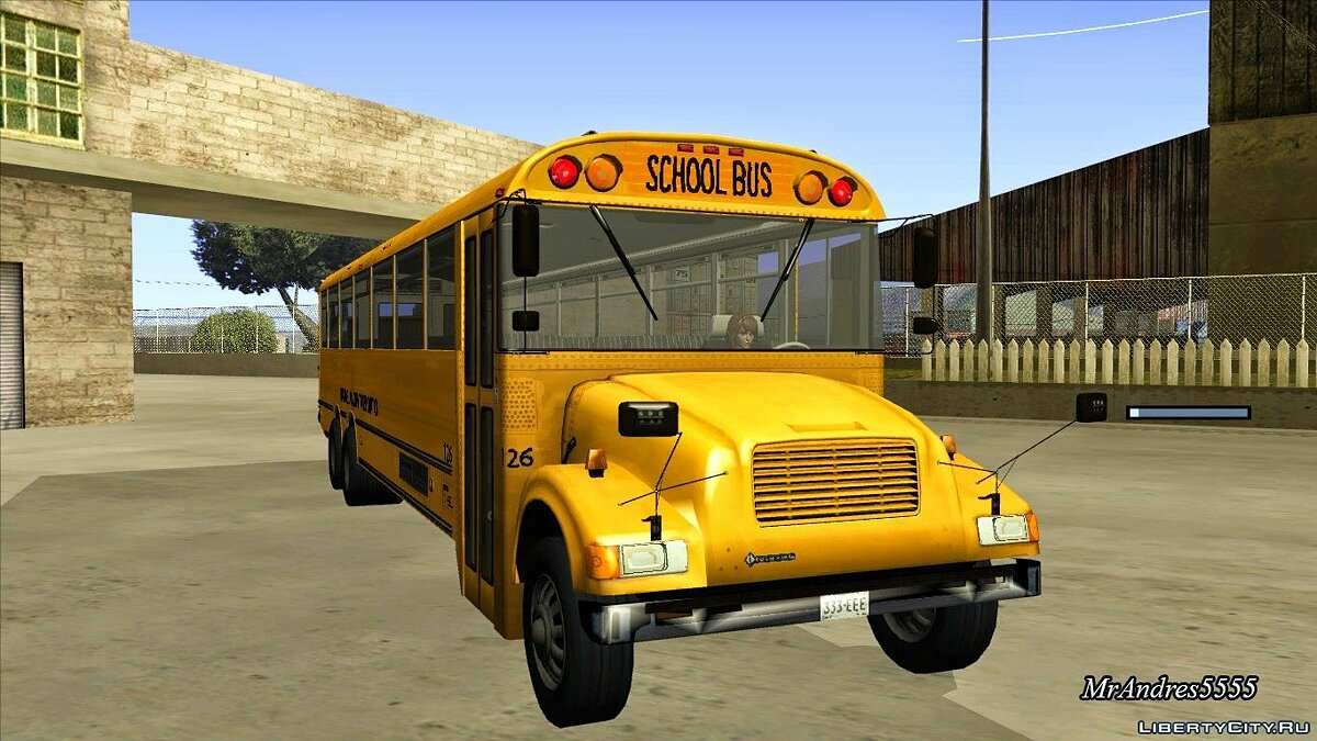 Bus from Life is Strange для GTA San Andreas