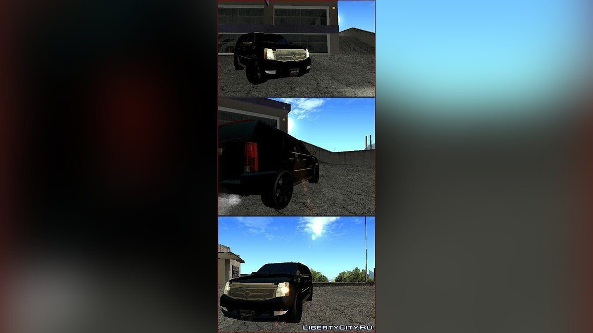 Cadillac Escalade Unique Autosport для GTA San Andreas