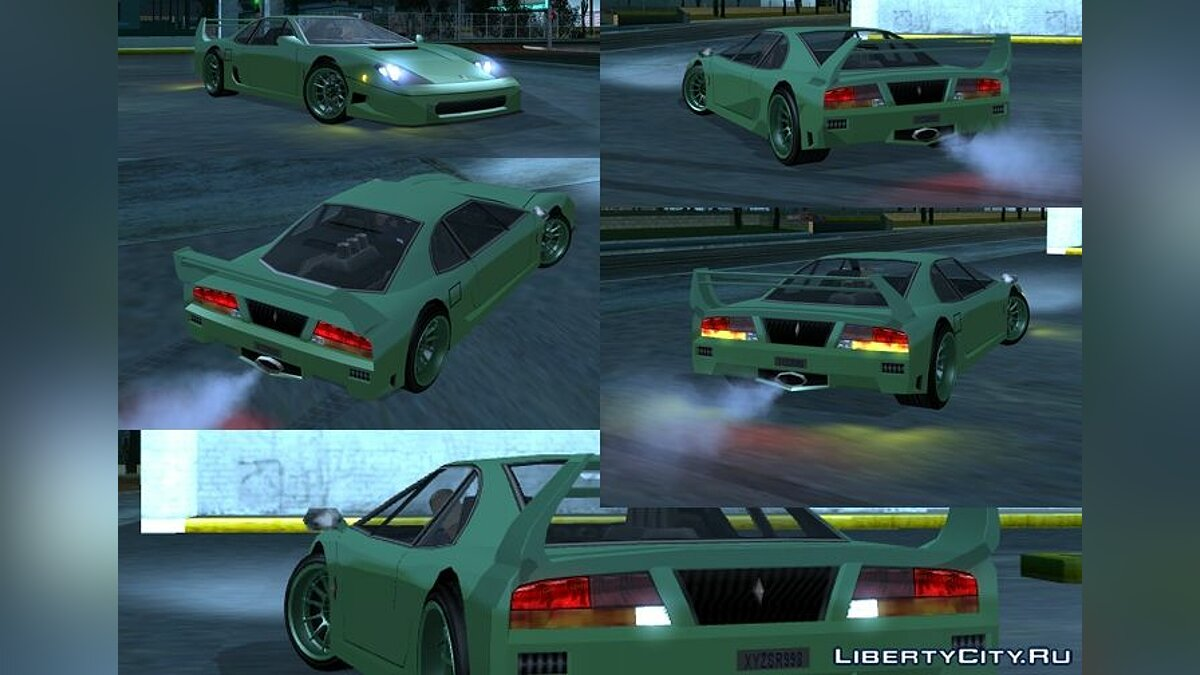 ��борник машин Original San Andreas vehicles adapted to ImVehFt для GTA San Andreas