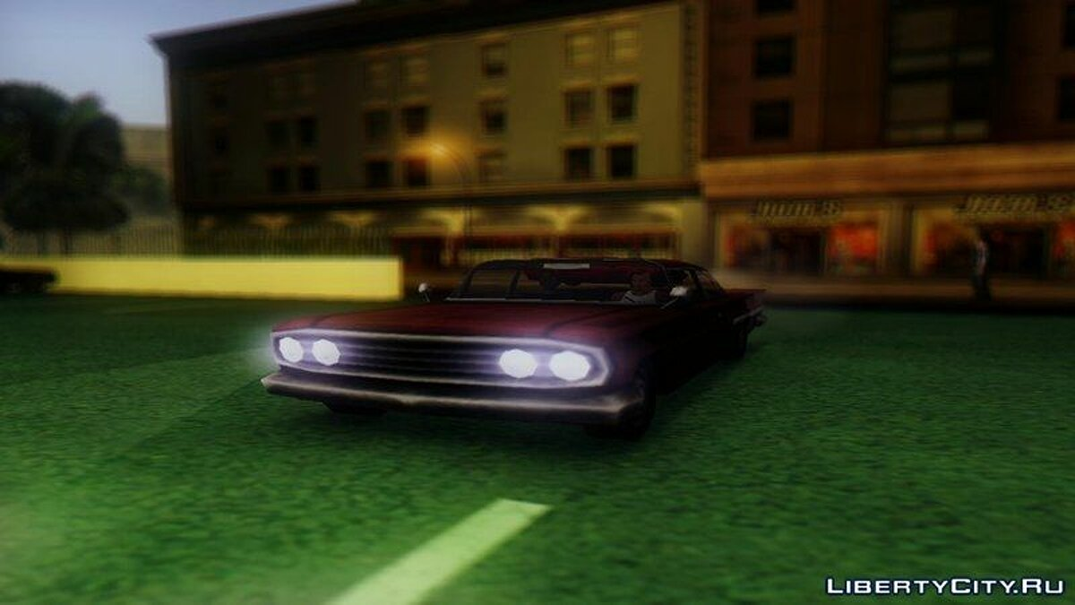 Сборник машин GTA Vice City cars for San Andreas для GTA San Andreas