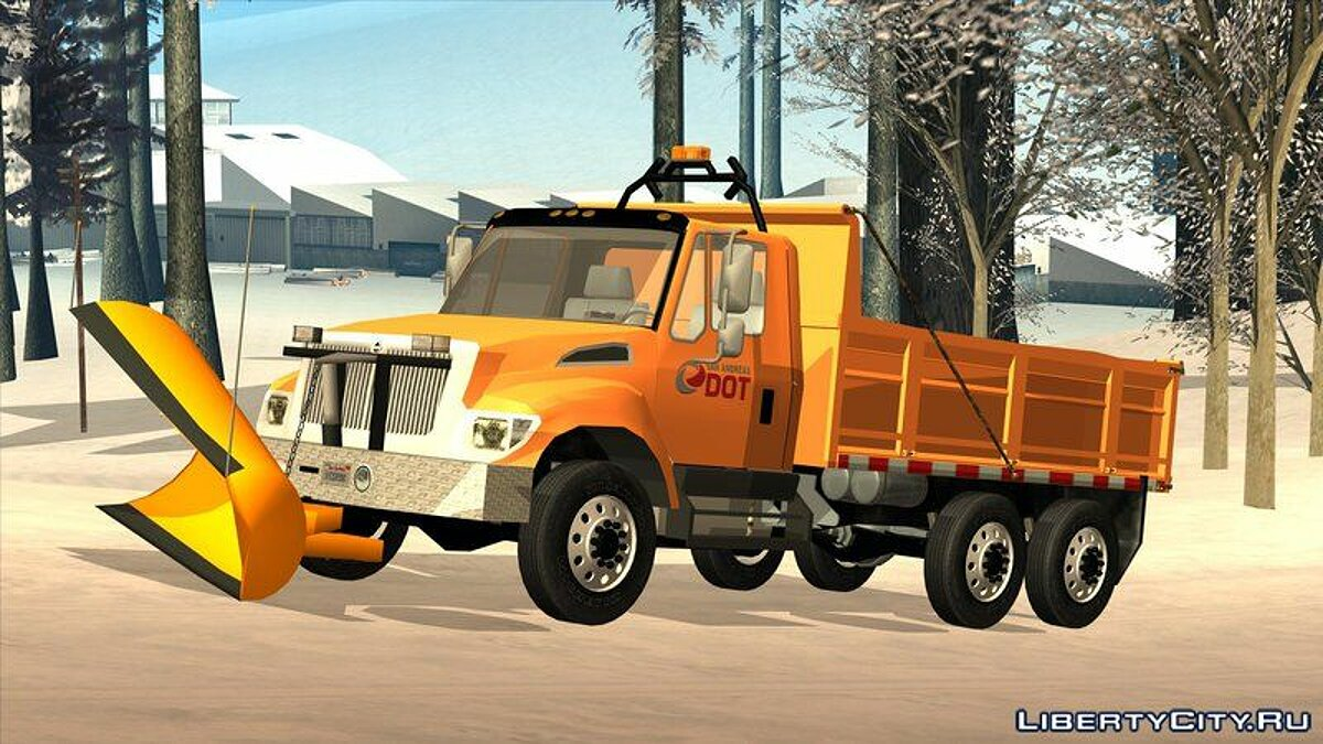 Сборник машин San Andreas Department of Roads Pack для GTA San Andreas