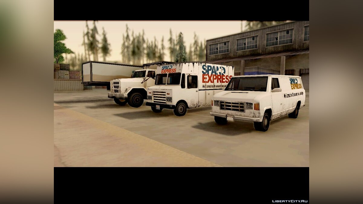 SpandExpress CarPack для GTA San Andreas