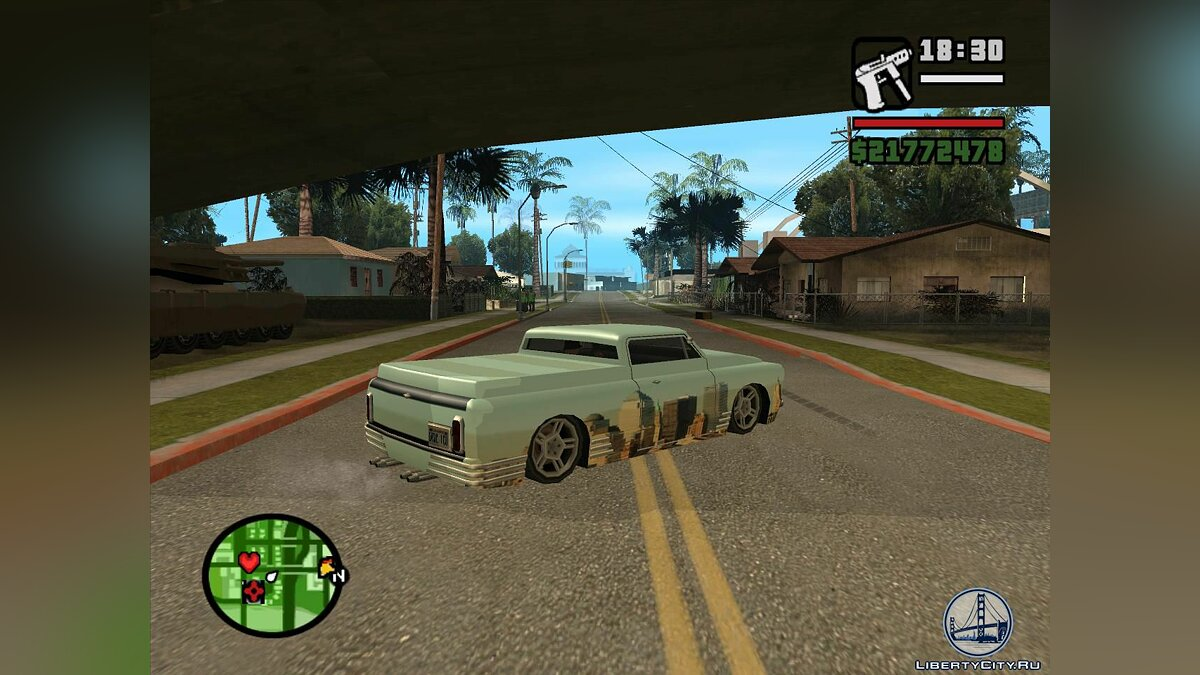 New York Slamvan paintjob для GTA San Andreas