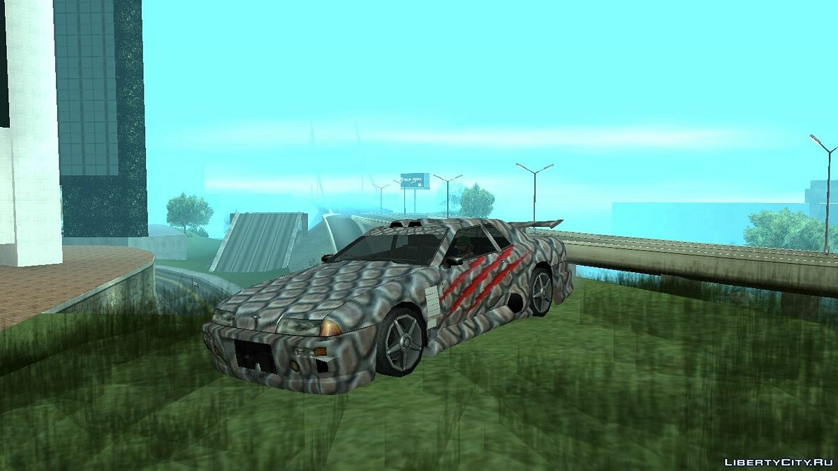 Текстура машины Dino paint jobs for Elegy для GTA San Andreas
