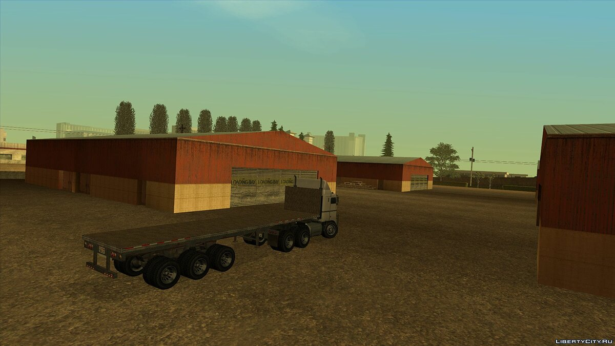 GTA IV Industrial Trailers для GTA San Andreas