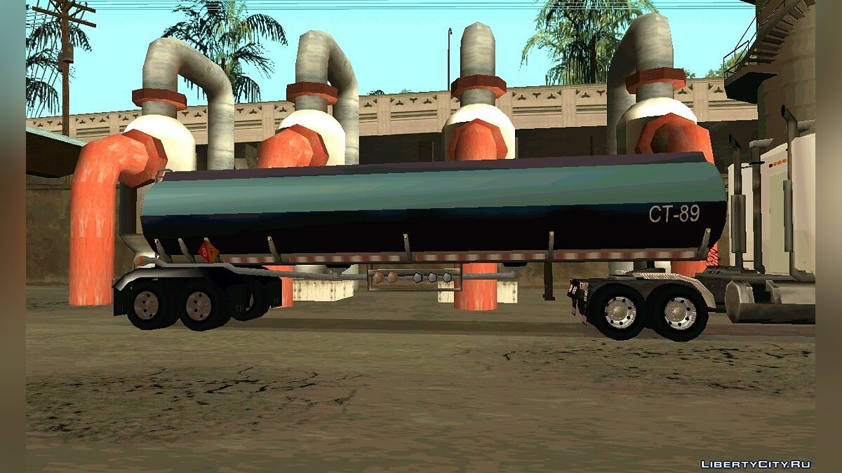 Petrol Trailer by nyolc8 для GTA San Andreas - скриншот #3