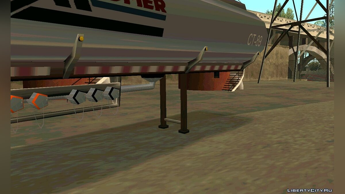 Petrol Trailer by nyolc8 для GTA San Andreas - скриншот #2