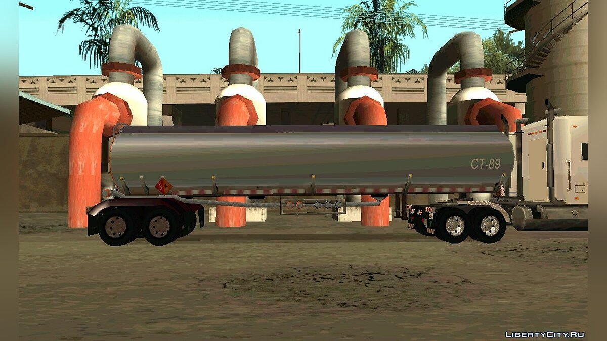 Petrol Trailer by nyolc8 для GTA San Andreas - скриншот #4