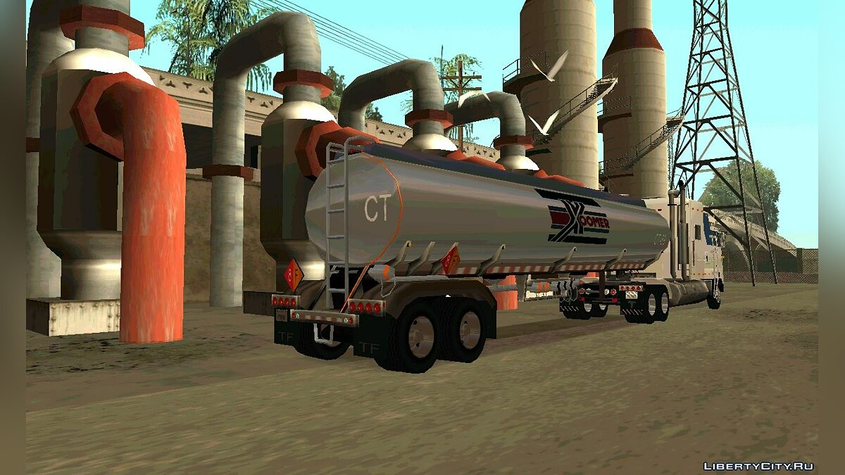 Petrol Trailer by nyolc8 для GTA San Andreas