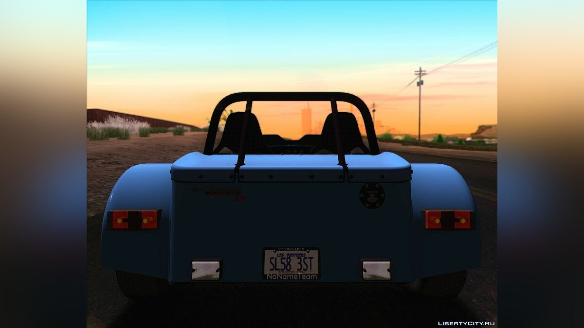 Машина Caterham Caterham Superlight R500 для GTA San Andreas