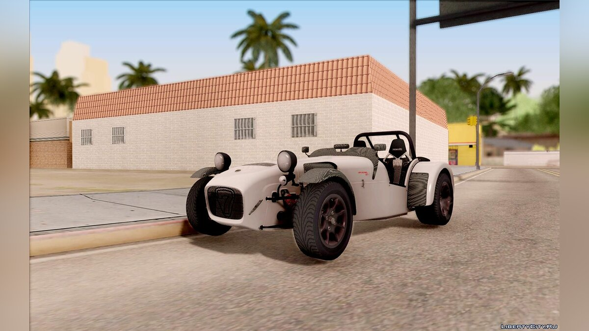 Машина Caterham Caterham 7 superlight R500 v2 для GTA San Andreas