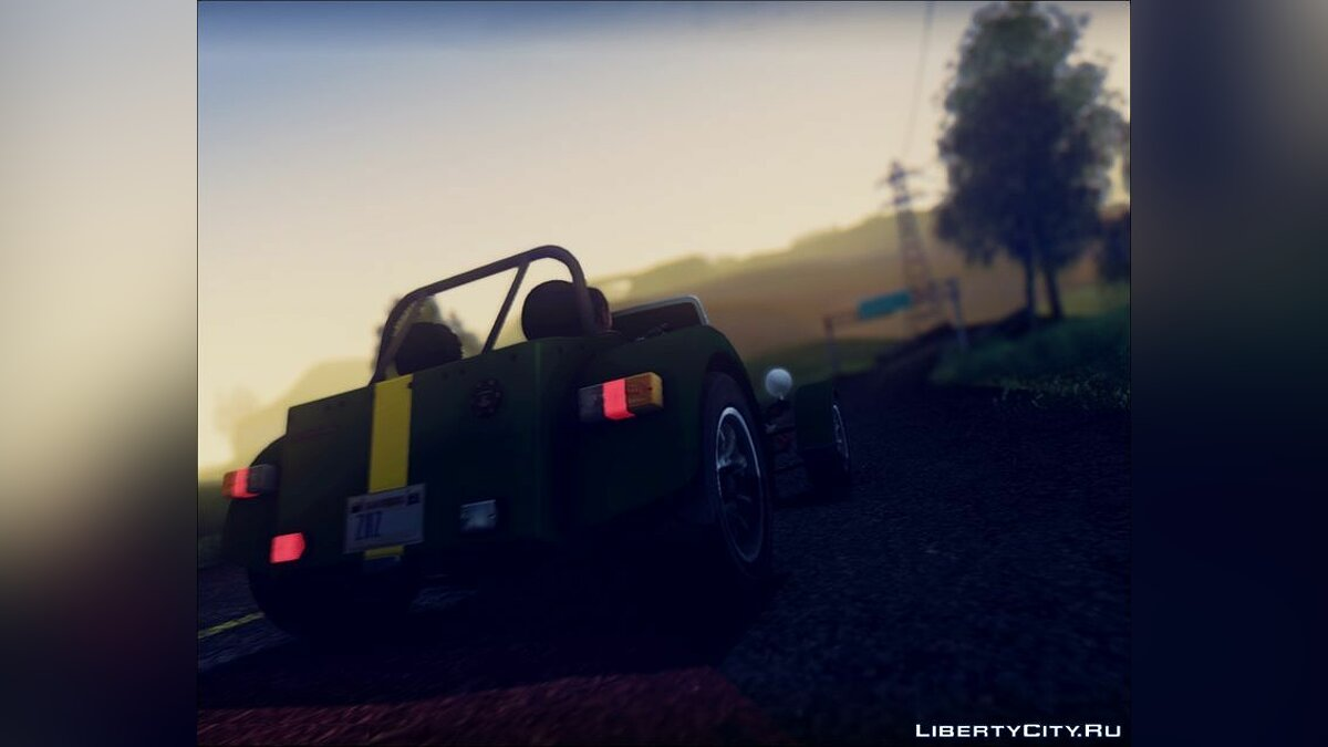 Машина Caterham 1995 Caterham Seven Roadsport для GTA San Andreas