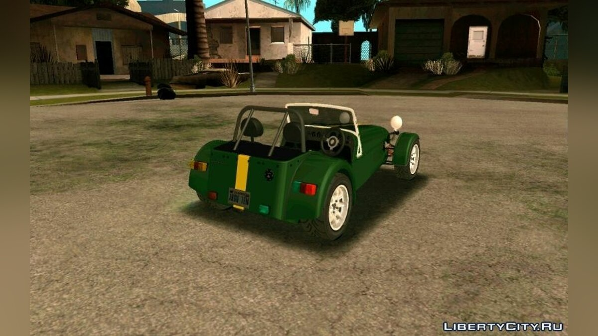 1995 Caterham Seven Roadsport для GTA San Andreas - скриншот #7