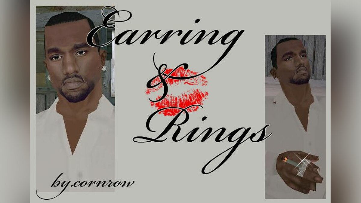 Earrings and Rings для GTA San Andreas