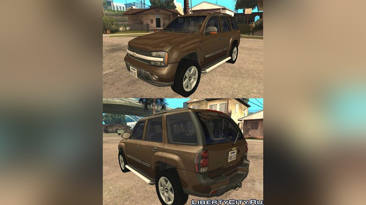 Chevrolet TrialBlazer 03 для GTA San Andreas