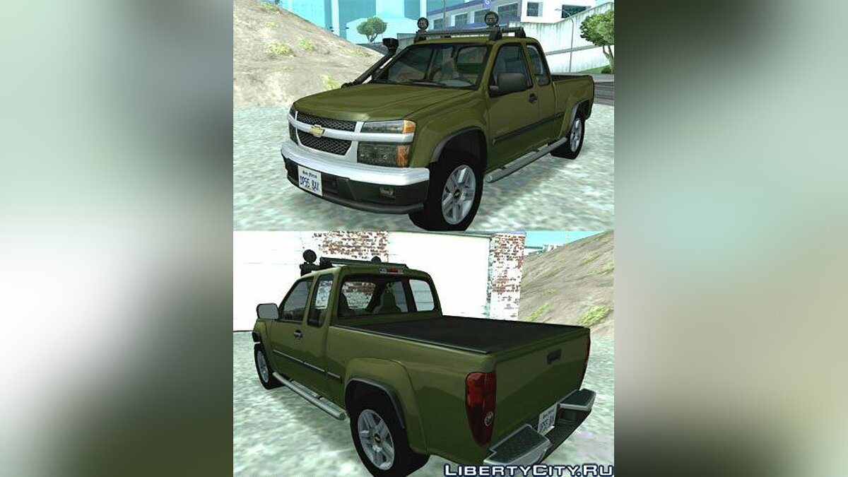 2003 Chevrolet Colorado для GTA San Andreas - Картинка #1