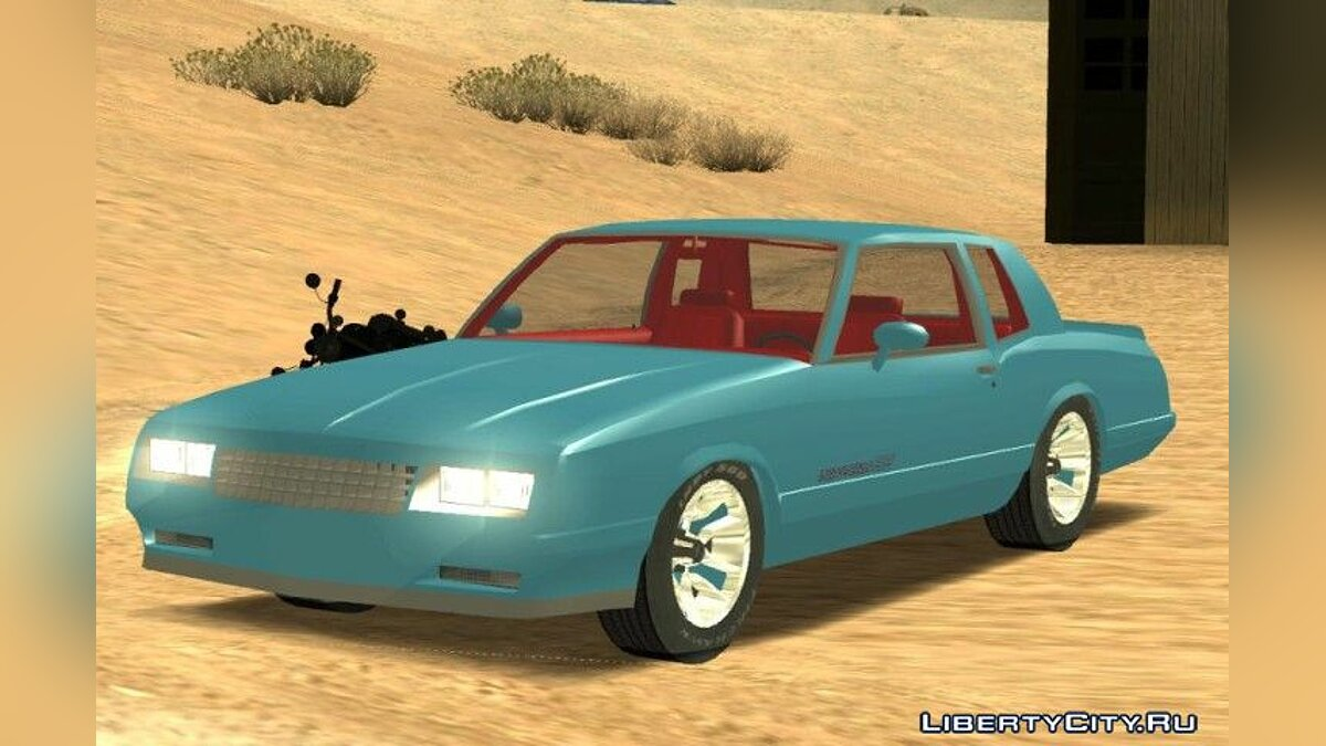 1986 Chevrolet Monte Carlo SS для GTA San Andreas - Картинка #1
