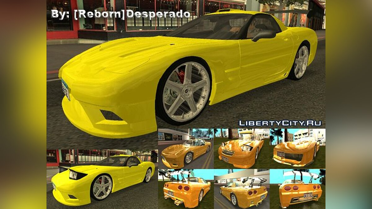 Chevrolet Corvette C5 Z06 Tunable для GTA San Andreas