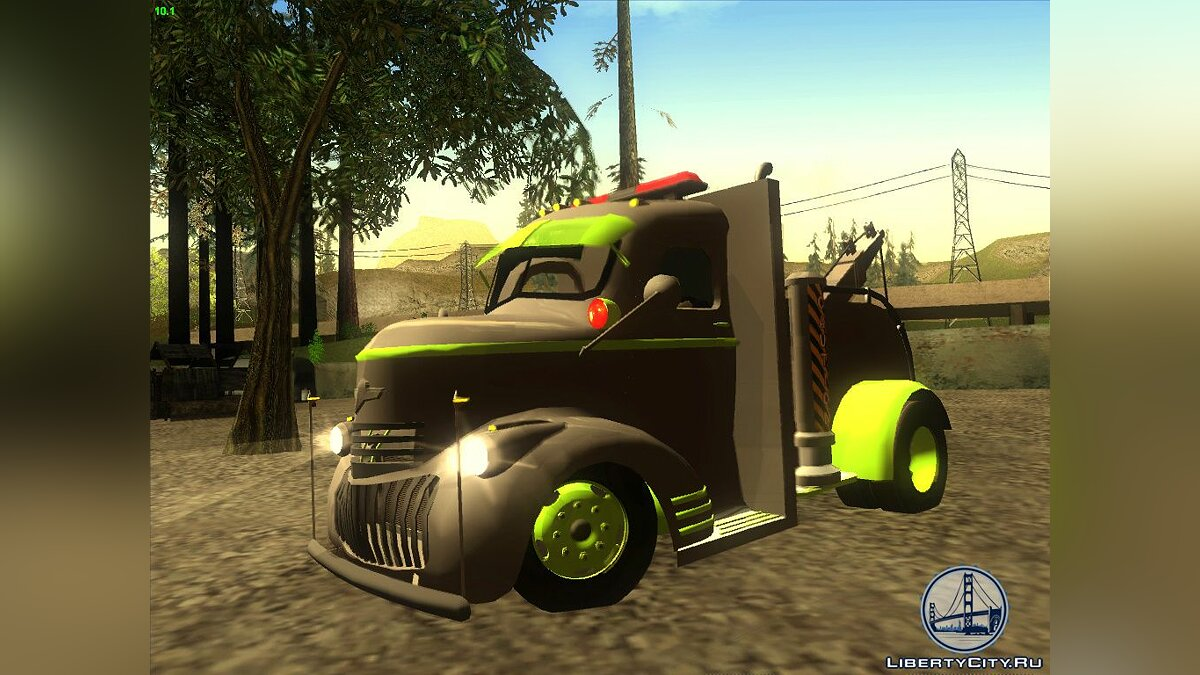 1946 COE Chevy Towtruck для GTA San Andreas
