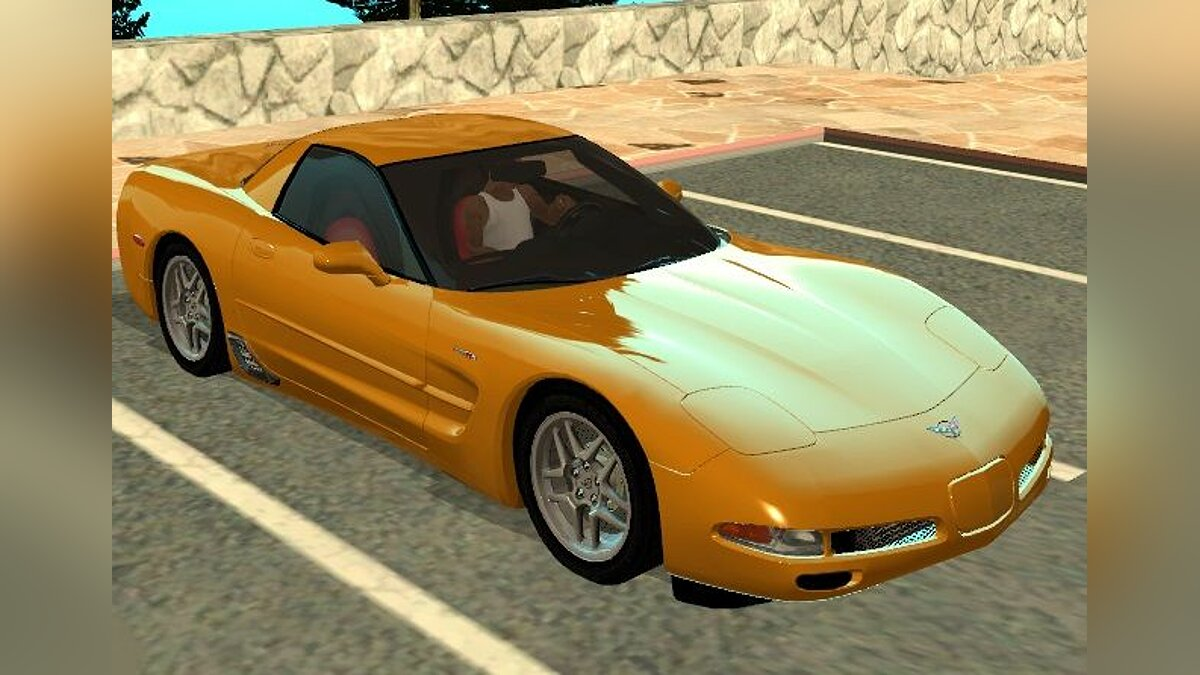 Chevrolet Corvette Z '06 - Stock для GTA San Andreas