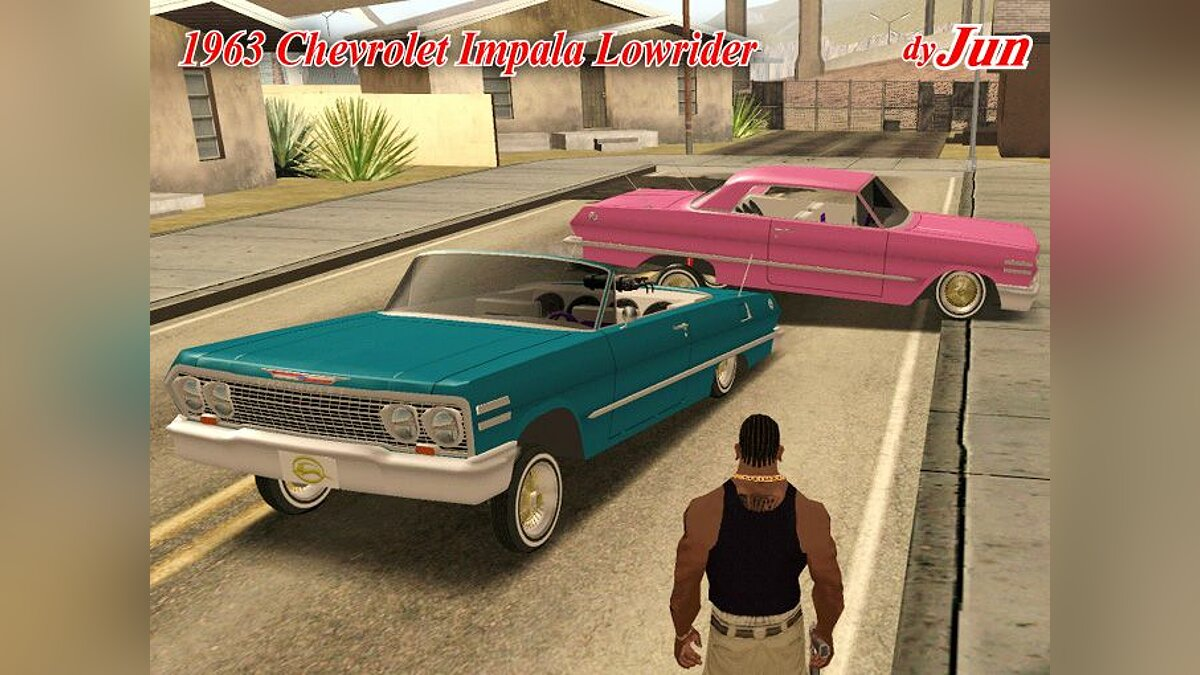 1963 Chevrolet Impala Lowrider V.2 для GTA San Andreas