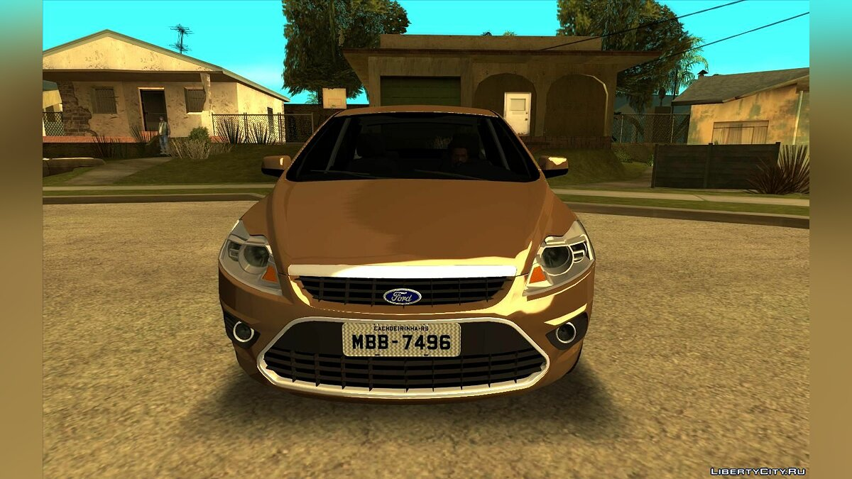 Машина Chevrolet Ford Focus Sedan 2009  для GTA San Andreas