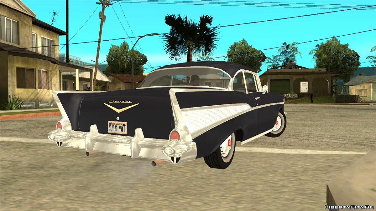Машина Chevrolet Chevrolet Bel Air 1957 для GTA San Andreas