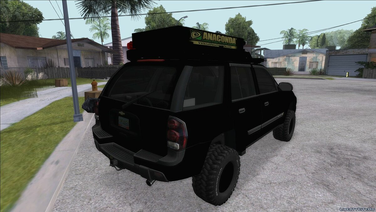 Машина Chevrolet Chevrolet Traiblazer Off-Road для GTA San Andreas