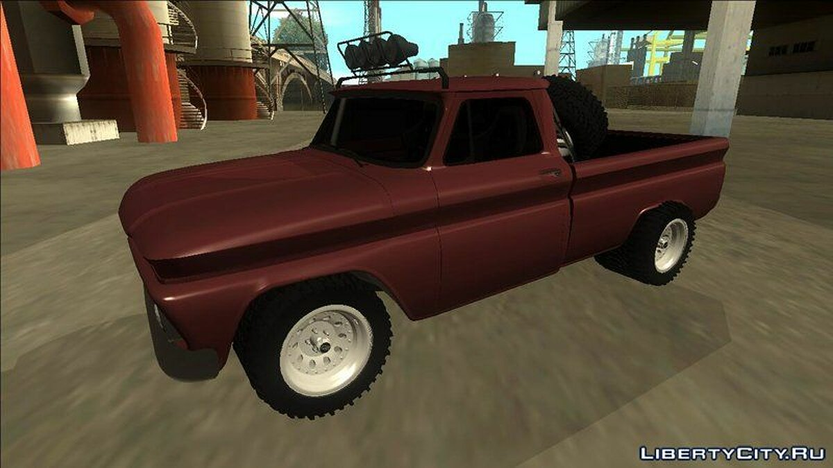 Машина Chevrolet Chevrolet C10 Rusty Rebel для GTA San Andreas