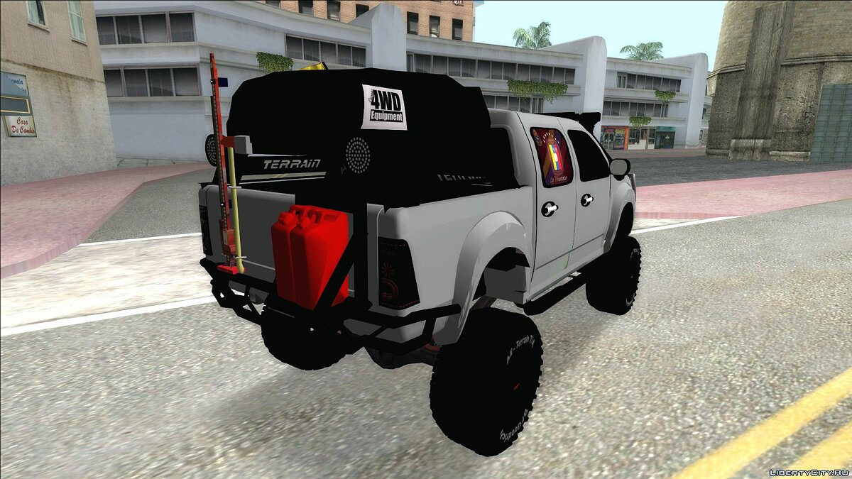 Машина Chevrolet Chevrolet Luv D-MAX 2015 OFF-ROAD ALL-TERRAINChevrolet Luv D-MAX 2015 OFF-ROAD ALL-TERRAIN для GTA San Andreas