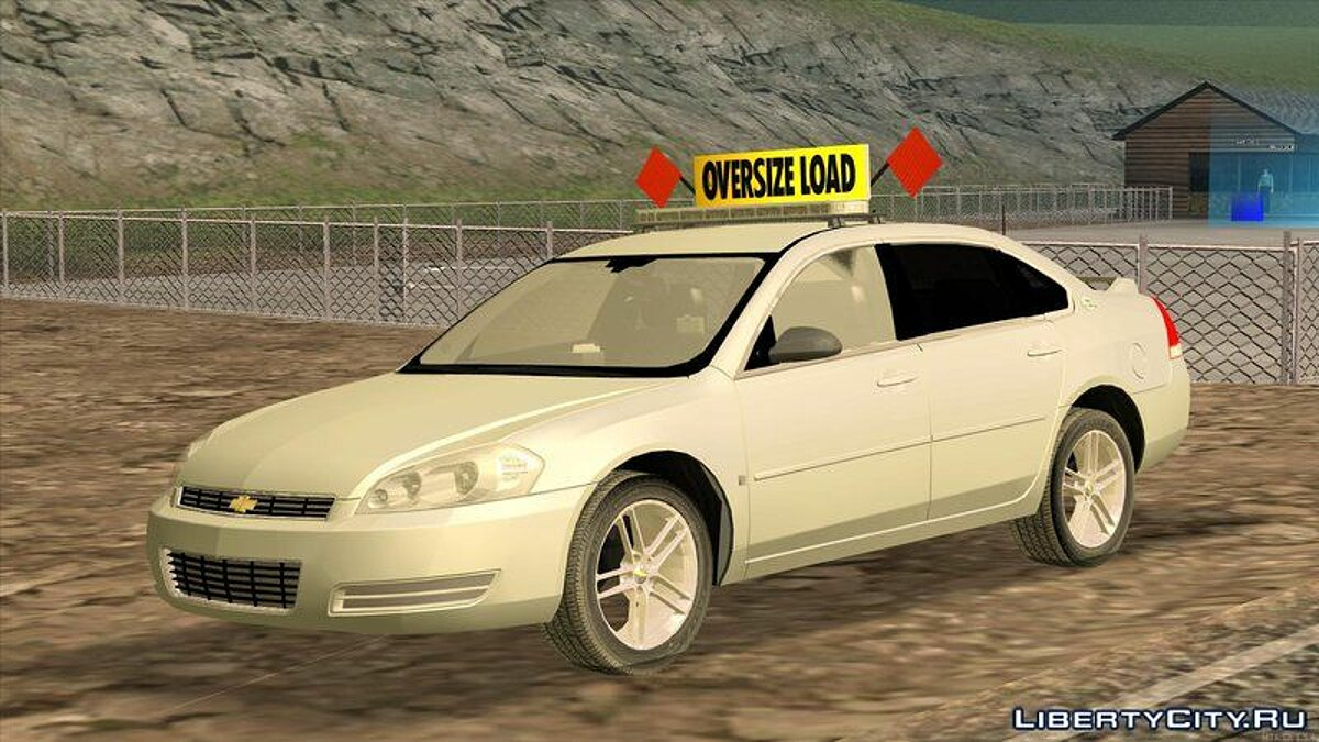 2008 Chevy Impala LTZ Pilot Car для GTA San Andreas