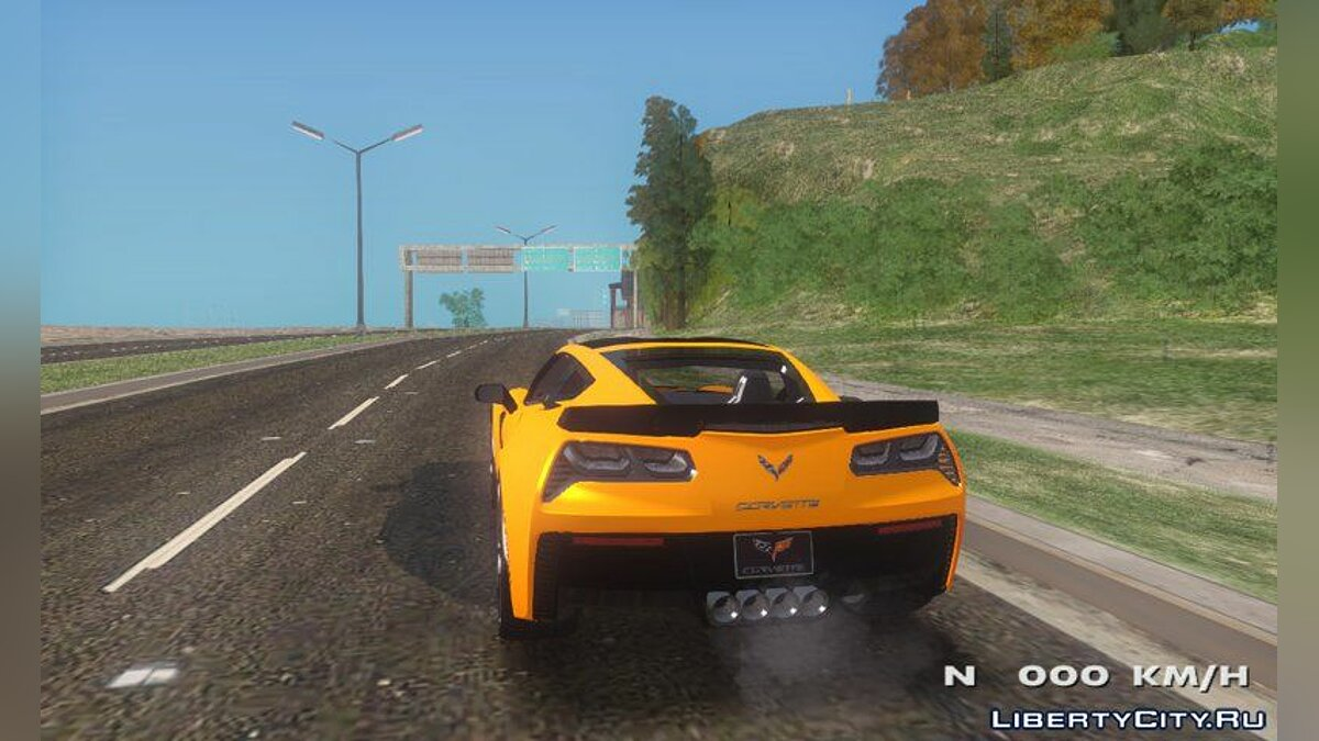 Машина Chevrolet Chevrolet Corvette Stingray Z06 для GTA San Andreas