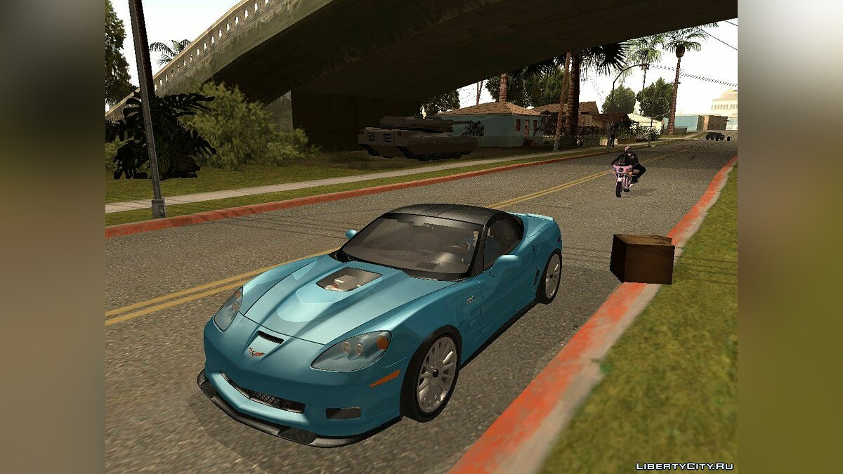 Chevrolet Corvette ZR1 Black Revel для GTA San Andreas