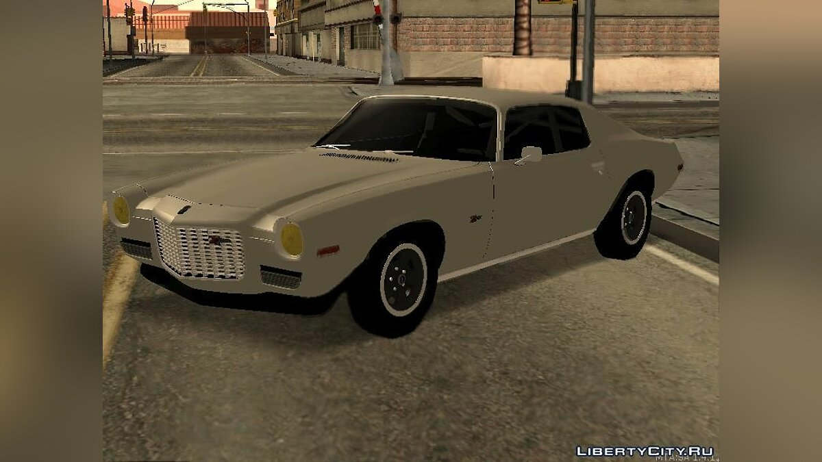 Chevrolet Camaro Z28 1970 Tunable для GTA San Andreas - скриншот #3