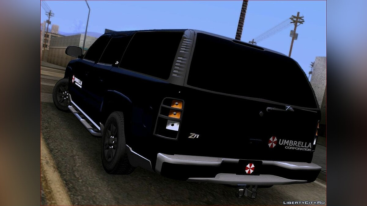 Chevrolet Suburban 2003 Umbrella для GTA San Andreas