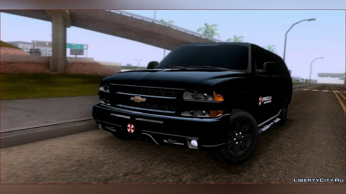 Chevrolet Suburban 2003 Umbrella для GTA San Andreas - скриншот #2