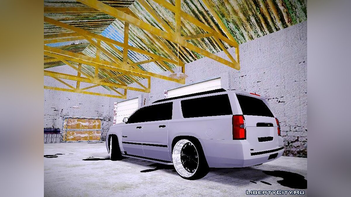 Chevrolet Tahoe GT Stance Bass Booster для GTA San Andreas - скриншот #3