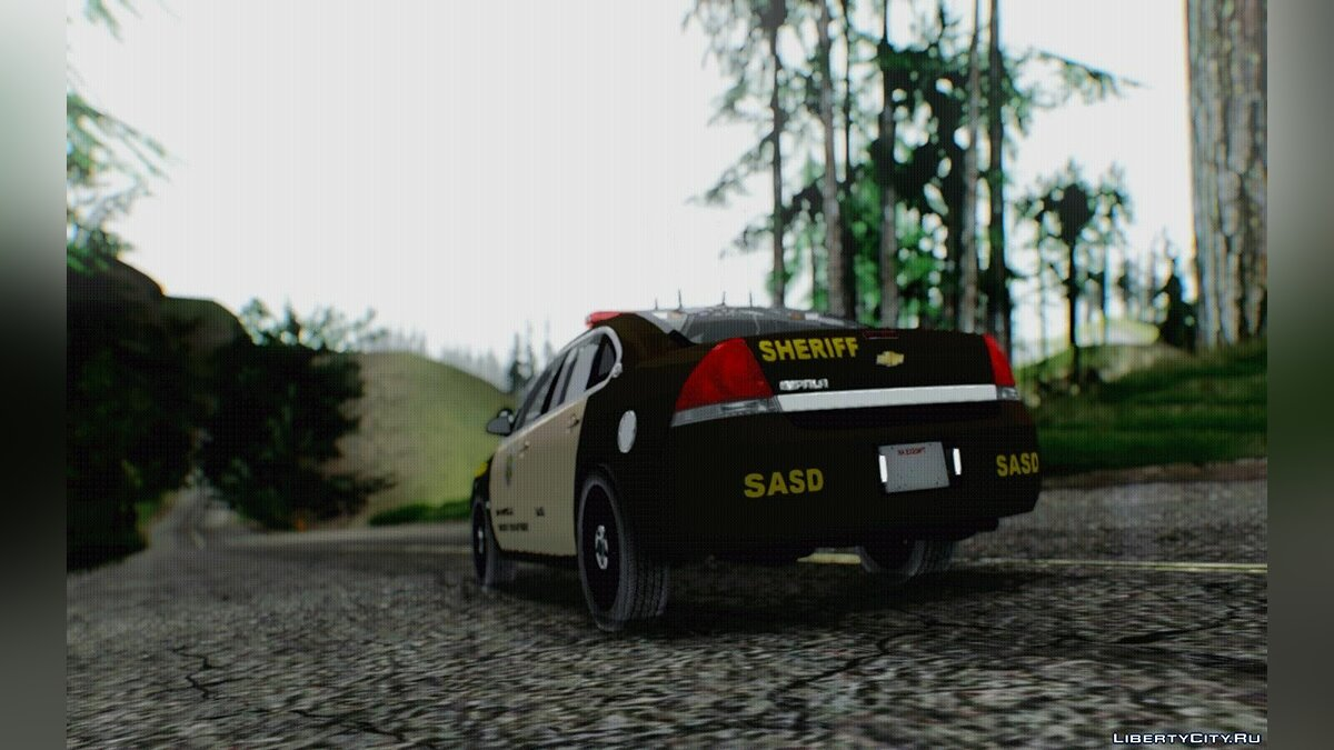 Chevrolet Impala SASD Sheriff Department для GTA San Andreas - скриншот #3