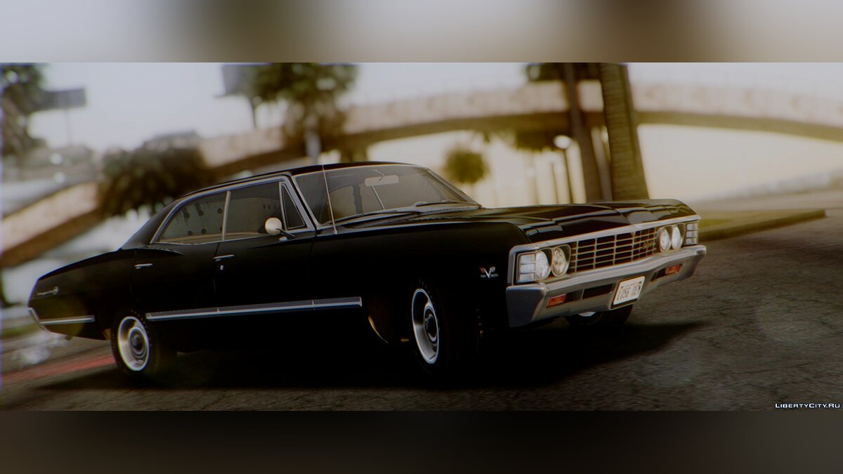 Chevrolet Impala Sport Sedan 396 Turbo-Jet (16387) 1967 для GTA San Andreas - скриншот #4