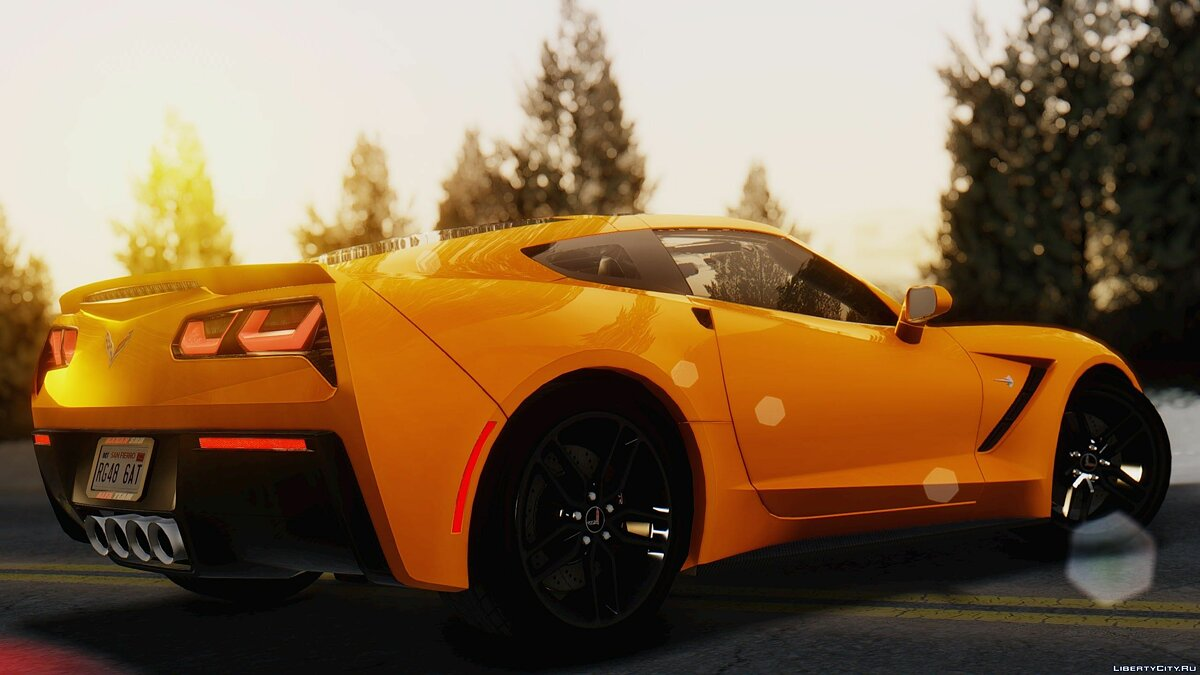 Chevrolet Corvette C7 Stinray 2014 1.0.1 для GTA San Andreas - скриншот #4