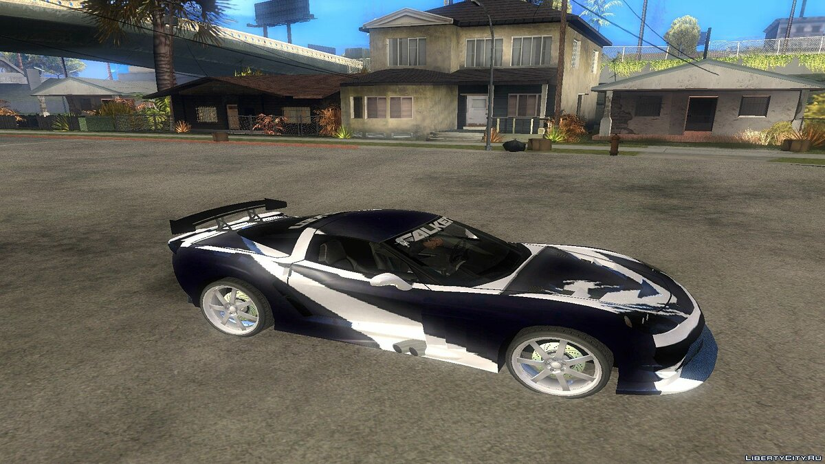 Машина Chevrolet Need For Speed:Carbon Cross's Corvette для GTA San Andreas