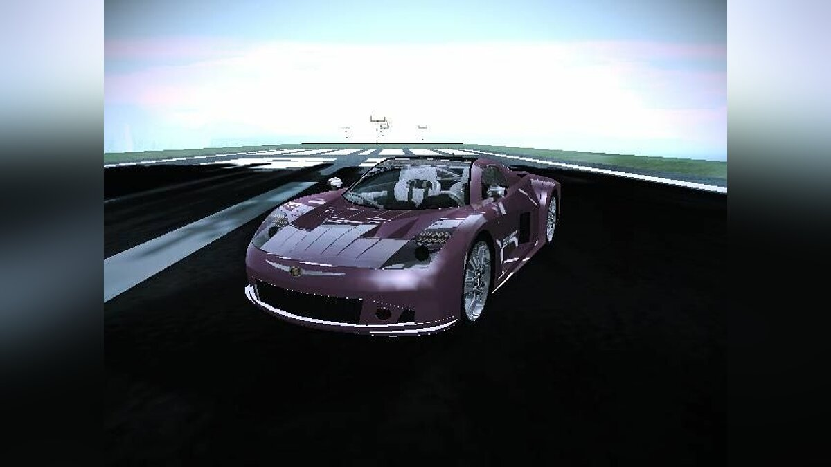 Chrysler ME Four Twelve для GTA San Andreas