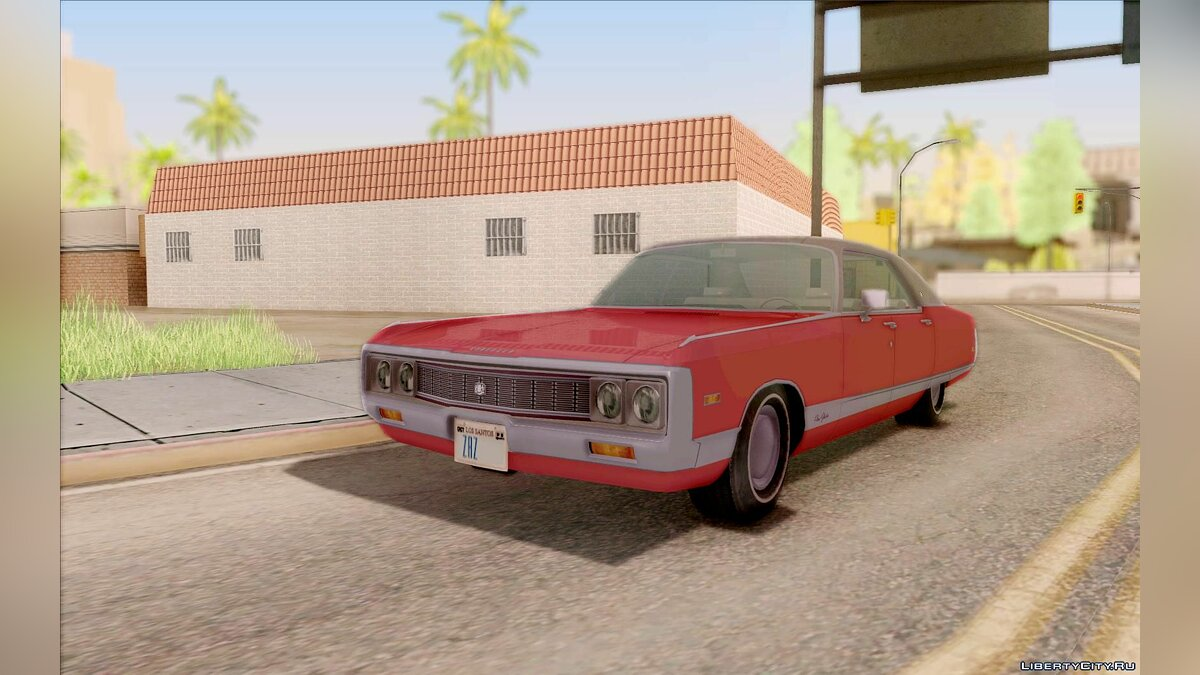 ��ашина Chrysler Chrysler New Yorker 4 Door Hardtop '71 для GTA San Andreas