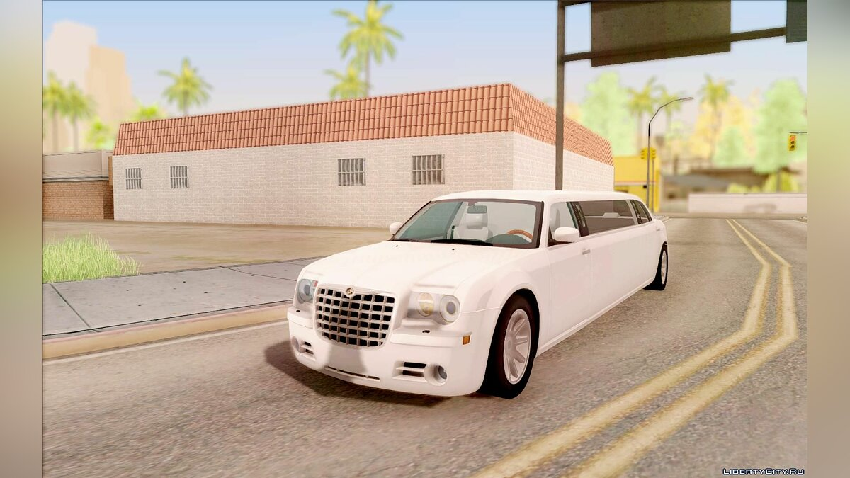 ��ашина Chrysler Chrysler 300C Limo 2007 для GTA San Andreas