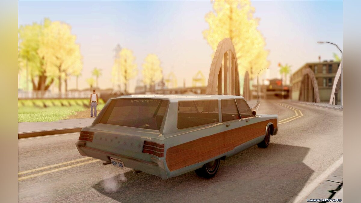 Chrysler Town and Country 1967 для GTA San Andreas - скриншот #3