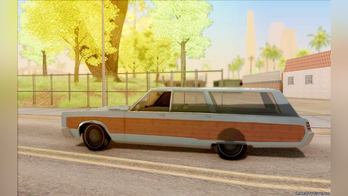 Chrysler Town and Country 1967 для GTA San Andreas - скриншот #4